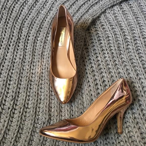 d8d10e4a24 INC International Concepts Shoes - Inc International Concepts Rose Gold Zitah  pumps